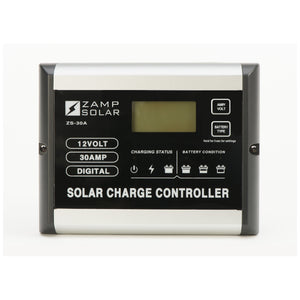 Zamp 30 Amp Solar Charge Controller