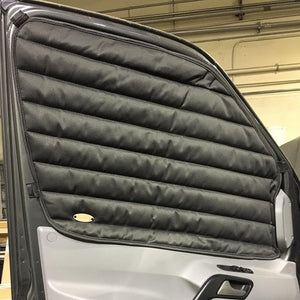 2014+ Promaster Front Door Pair - Magnetic Insulating Curtains