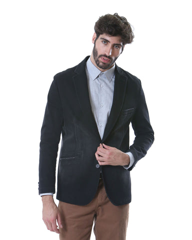 Blazer Befit Black Denim T.Grafitto BMC29BLA002 - Everfit Colombia