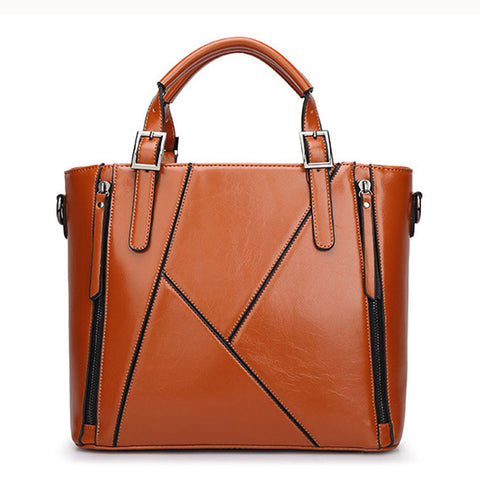 Fashion Designer Women Handbag Leather  Handbags Ladies Portable Shoulder Bag