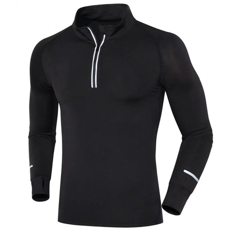 New Men Running T Shirts Long Sleeves