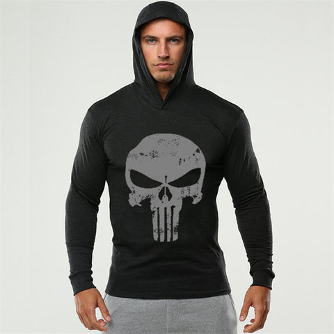Men Bodybuilding Hoodies Sweatshirt