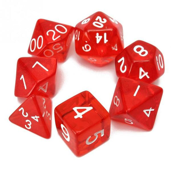 Polyhedral Dice for Classic RPGs
