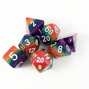 Rainbow Dice for Classic RPGs!