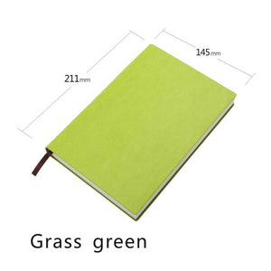 A5 Notebook with 4mm Grid Lines in Six Colours