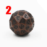 Solid Metal Sixty Sided Die