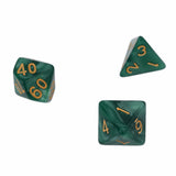 Set of 7 Pearl Texture Acrylic Polyhedral Dice for Classic RPGs