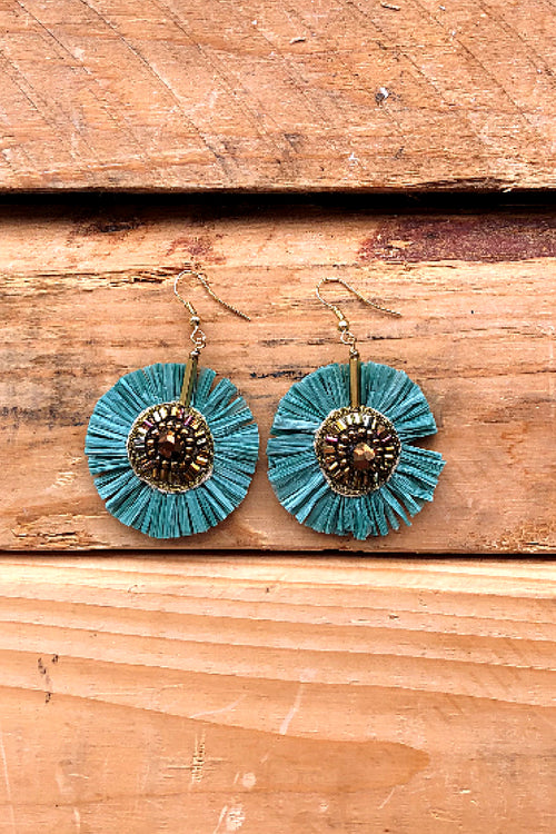 Blue Lagoon Drop Earring