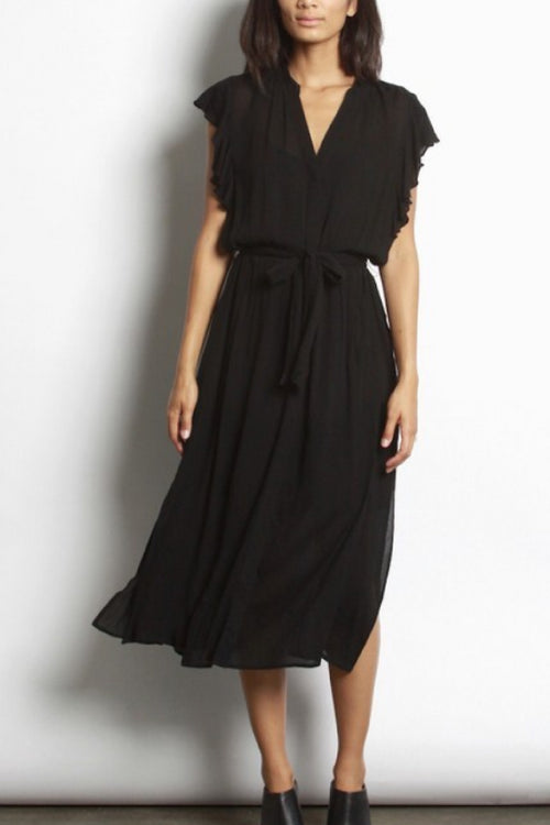 Lia Wrap Midi Dress