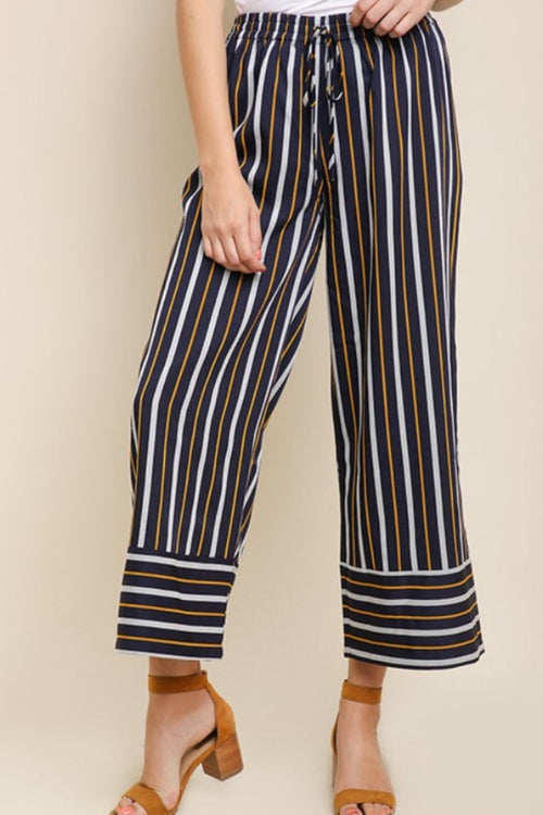 Wide leg Fall Trouser