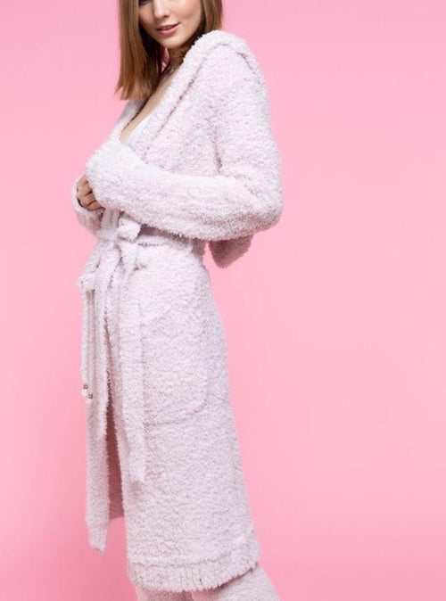 Cozy Up Robe Pink