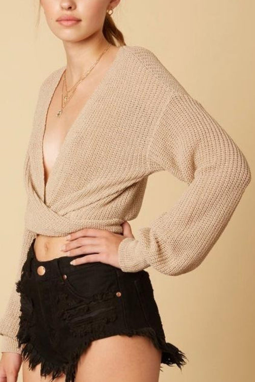 Wrap Around Sweater