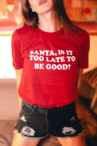 Santa, Is It Too Late Tee