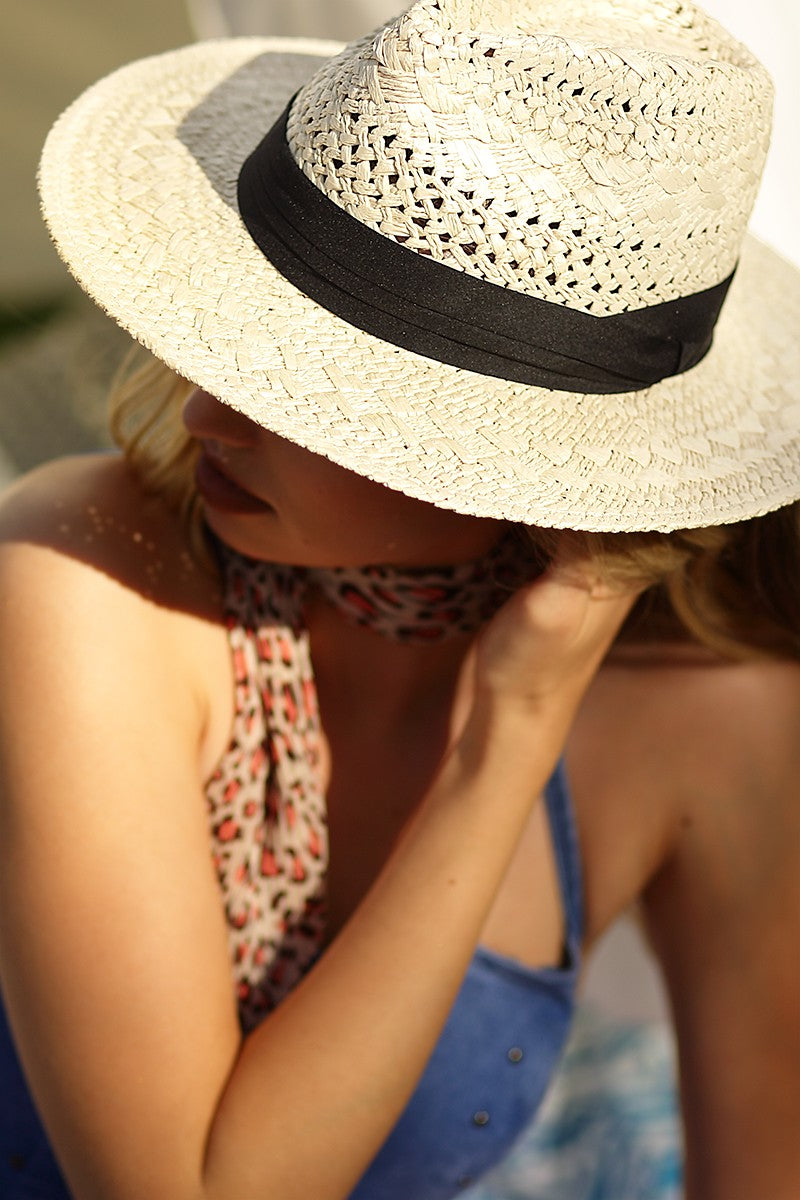 Boho Chic Summer Panama Hat