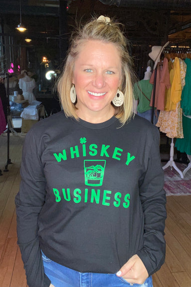 Whiskey Business LS  Black