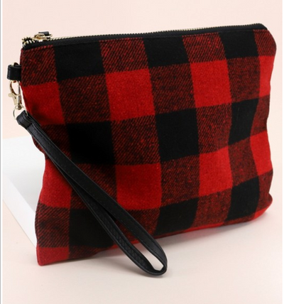 Buffalo Plaid Wrist-let