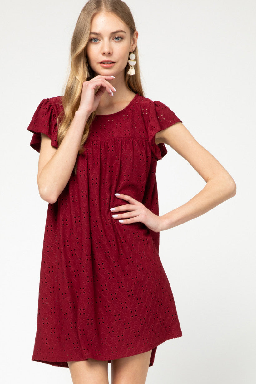 Susie Eyelet Dress