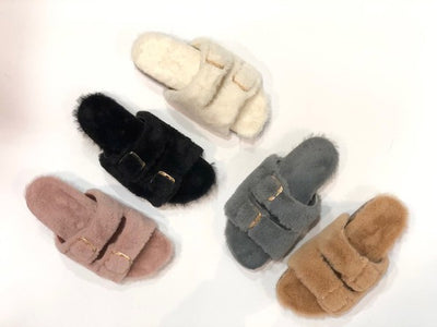 Black Fur Slide
