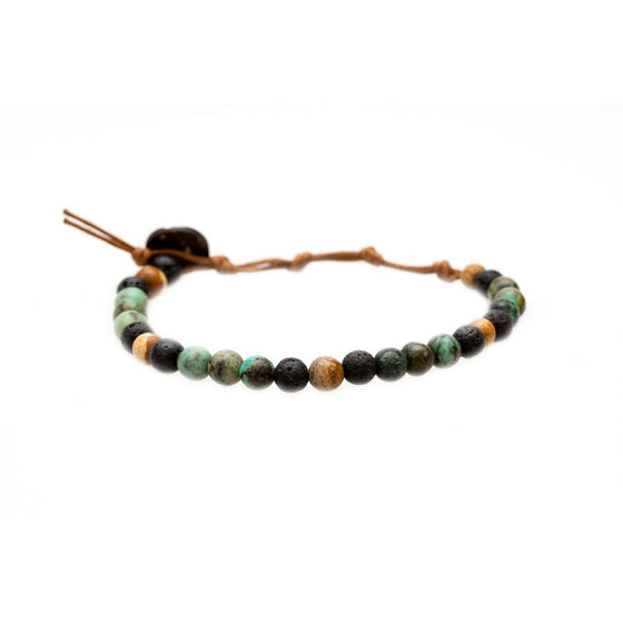 Peace + Strength Bracelet