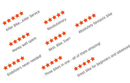 100% 5 Star Reviews - hear what our customers are saying