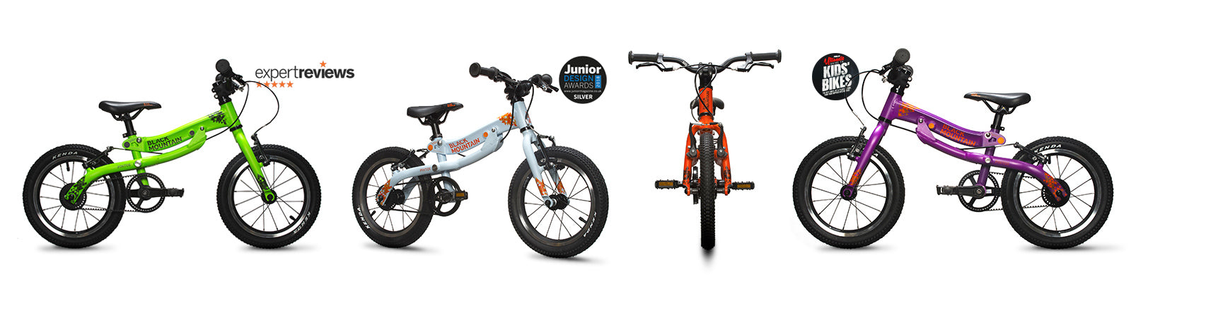 Pinto and Skøg - the lightweight growing kids' bikes