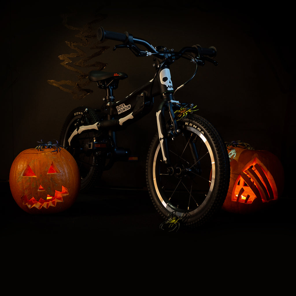 Black Mountain bikes Halloween