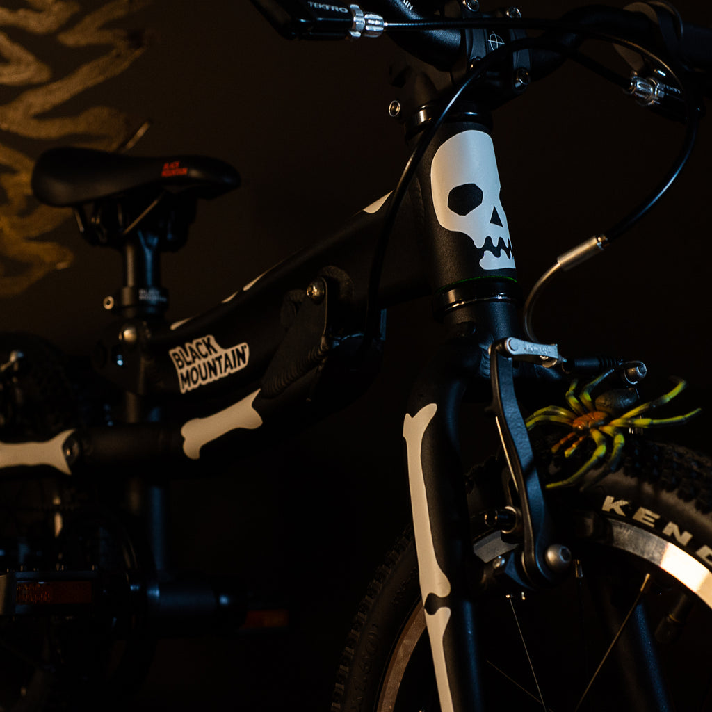 Black Mountain bikes Halloween bike