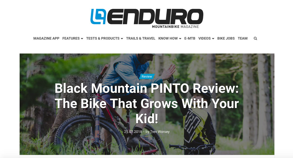 ENDURO MAGAZINE The Bike That Grows With Your Kid!