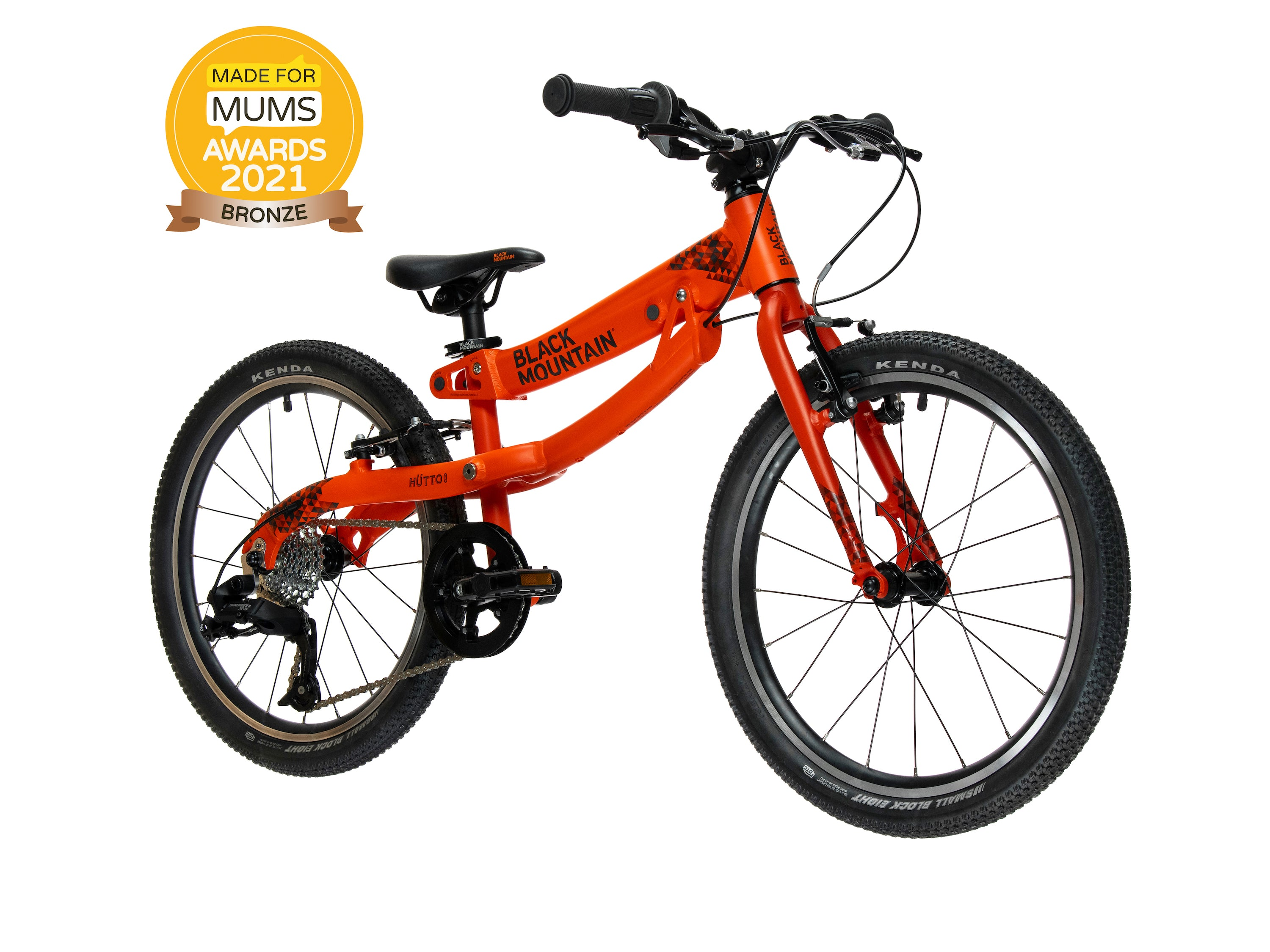"""20"""" kids bike with Made For Mums award badge"""