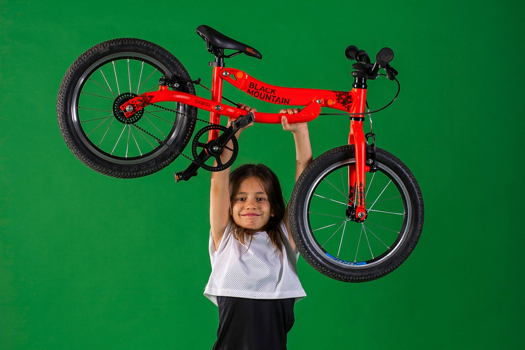Super lightweight girl's bike