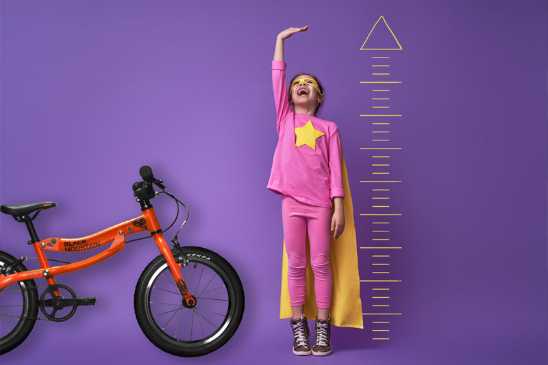 measuring child for kids bike