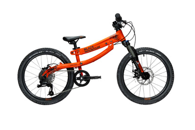"HÜTTO TRAIL 20"" kids bike with disc brakes and suspension"