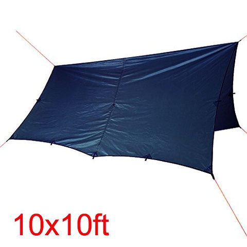 WINGONEER - 10 × 10 Ft Compact Tarp