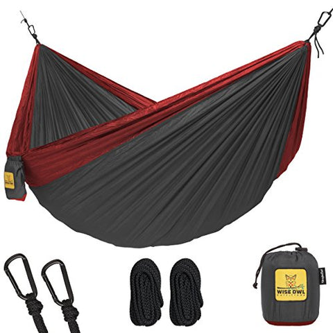 Wise Owl Outfitters - Single & Double Hammocks