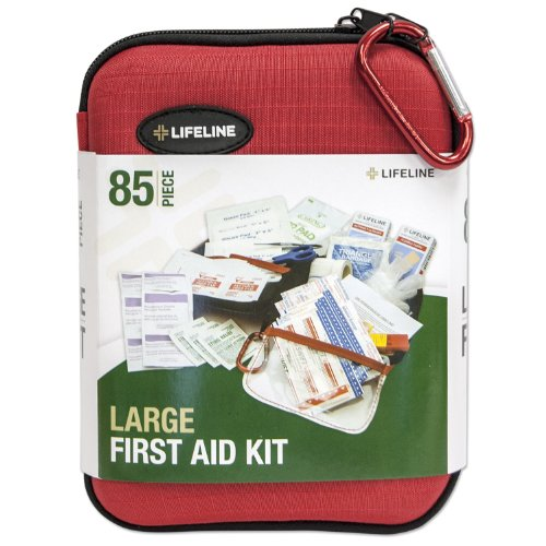 Lifeline - 85 Piece Large Hard Shell First Aid Kit