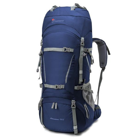Mountaintop - 70L+10L  Backpack With Rain Cover