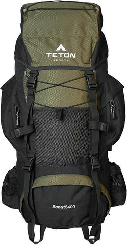 TETON Sports - Scout 3400 Internal Frame Backpack