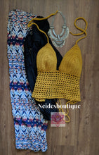Golden yellow crochet bralette, crochet top, Fringe crochet Bralette, best friend gift crop top Crochet bralette Haltertop, sexy top boho,crochet crochet dress bohemian clothing