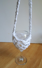 Crochet  glass holder, birthday gift, Mother's day gift, gift for her