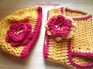 FSU, BABY Hat Diaper Cover,Crochet baby Diaper cover, Baby girl's outfit,Newborn to 3 Months,Diaper cover
