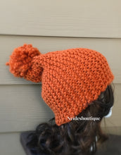 Pumpkin Spice knitted Beanie, knit hat, perfect gift