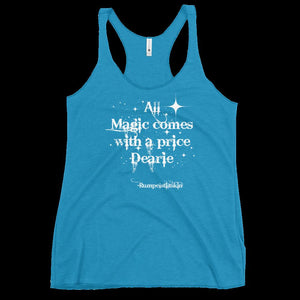 OUAT Fans, All magic comes with a price dearie, once upon a time fans, Women's tank top, best friend gift, Christmas present, early shopping