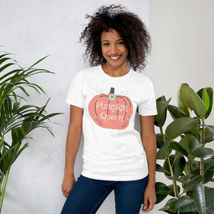 Pumpkin queen t-shirt, Short-Sleeve Unisex T-Shirt