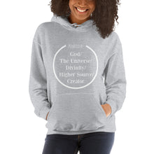 Powered by the universe hoodie, Unisex Hoodie