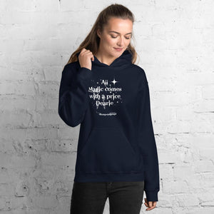 Once upon a time, Rumpelstiltskin,funny sweatshirt,All magic comes with a price,graphic,Sweatshirt,best friend gift,adults gift,humor,funny
