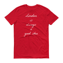 London is always a good idea Tank Top,Best friend shirt,Wife gift,Girlfriend,racerback Tank, Wanderlust clothing, Workout shirt,Graphic tees