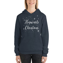Hogwarts Christmas hoodie, gift for her, gift for him, Unisex hoodie