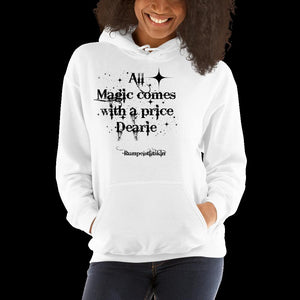 Christmas gift,Once upon a time, Rumpelstiltskin,All magic comes at a price,graphic Sweatshirt,best friend gift,adults gift, winter fashion
