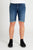 DML Jeans Carbon Blue Denim Shorts