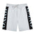 Hermano Logo Taped Shorts - Grey